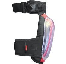 Genouillère Gelo noire/rouge avec protection anti-coupure DIN EN 14404:2010, 2 pièces-thumb-1
