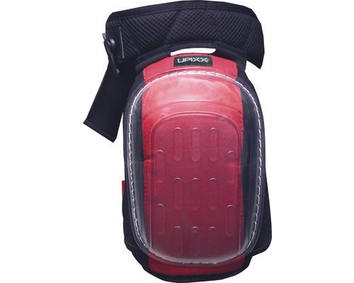 Genouillère Gelo noire/rouge avec protection anti-coupure DIN EN 14404:2010, 2 pièces-0