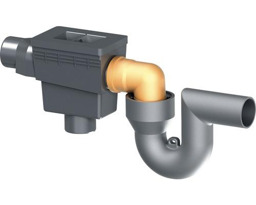 Filtre intégré dans la cuve avec siphon de trop-plein