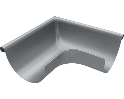 Außenwinkel 90° Stahl anthrazit NW 153mm Größe 333