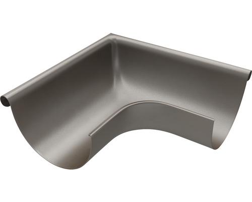 Außenwinkel 90° Stahl braun NW 127mm Größe 280