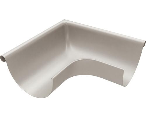 Außenwinkel 90° Stahl grau NW 127mm Größe 280