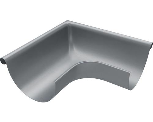 Außenwinkel 90° Stahl anthrazit NW 127mm Größe 280