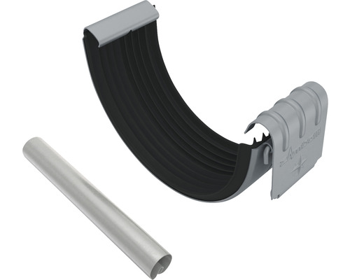 Set Rinnen- u. Wulstverbinder anthrazit NW 127mm Größe 280