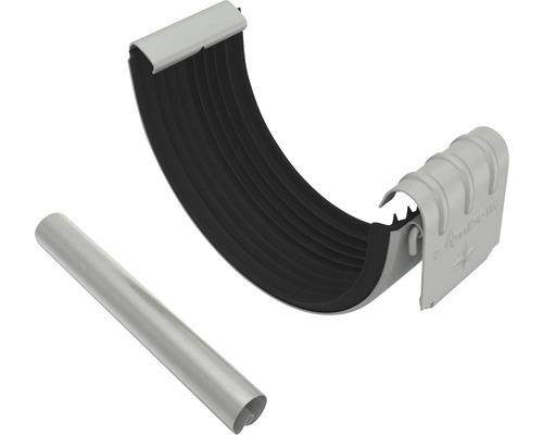 Set Rinnen- u. Wulstverbinder grau NW 127mm Größe 280