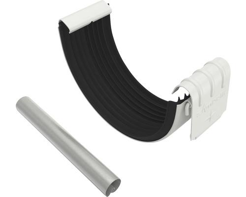 Set Rinnen- u. Wulstverbinder grauweiß NW 127mm Größe 280