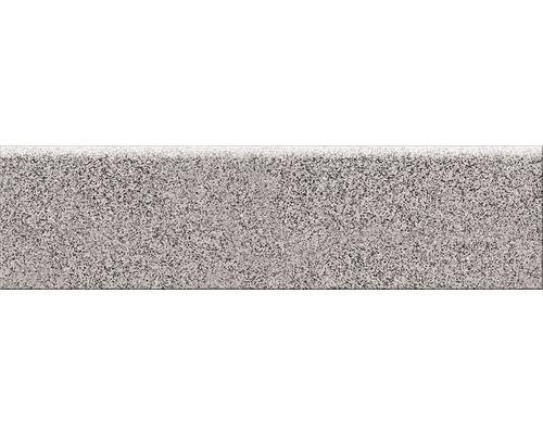 Carrelage de plinthe Pandora gris 8x30cm