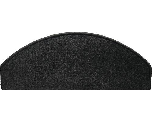 Marchette d''escalier Dynasty black 28x65 cm