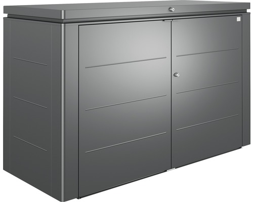 HighBoard Biohort T. 200, 200x84x127cm gris foncé-métallique