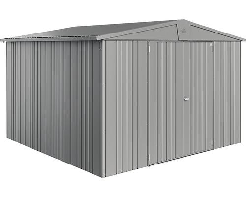 Cabane à outils Biohort Europa Gr. 7, 299 x 299 cm, gris métallisé-0