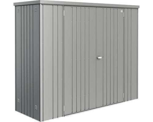 Armoire à appareils Biohort T. 230, 227x83cm gris quartz-métallique