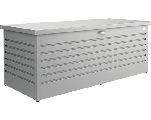Caisse de rangement Biohort FreizeitBox 180, 181x79x71cm gris quartz-métallique