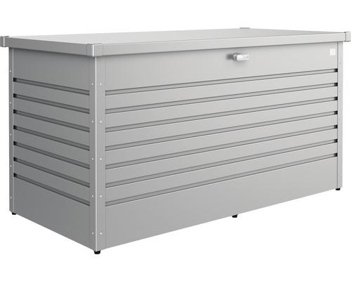 Caisse de rangement Biohort FreizeitBox 160, 160x79x83cm gris quartz-métallique