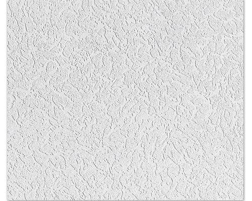 Papier peint aspect crépi blanc