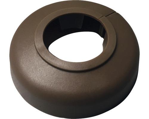 Rosace pour radiateur 22mm plastique noyer