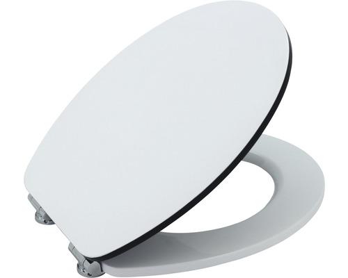 Abattant WC Form & Style Edge blanc/noir