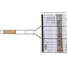 Grille réversible Tenneker® acier 95x36 cm