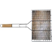 Grille réversible Tenneker® acier 95x36 cm-thumb-2