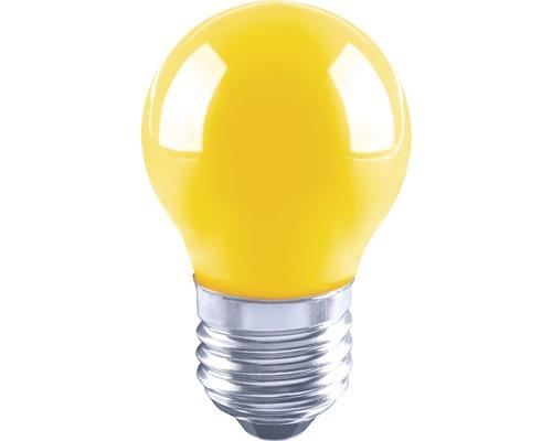 Ampoule en forme de goutte FLAIR LED E27/3W avec filament jaune G45-0