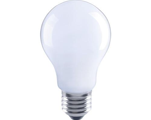 FLAIR Lampe LED E27/6W avec filament incandescent mat/blanc A60