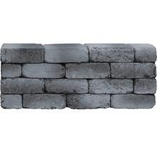 Mauerstein iBrixx Antik grauschwarz 28x21x8,5cm-thumb-0