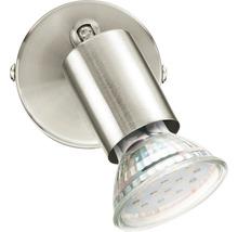 Spot LED Buzz 1x3W/GU10 nickel/mat 92595-thumb-1