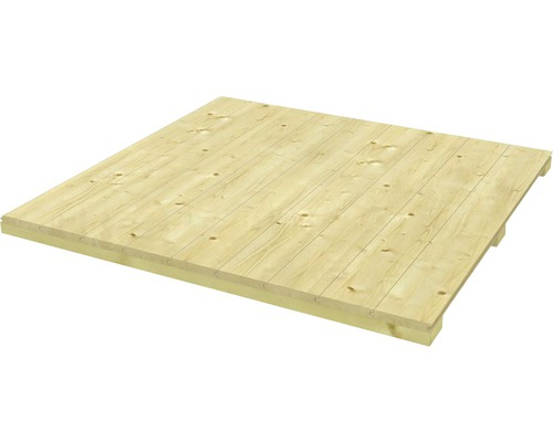 Plancher SKAN HOLZ pour CrossCube Haus taille 3, 239x239 cm