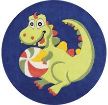Tapis pour enfants Dragon Ø 130cm-thumb-0