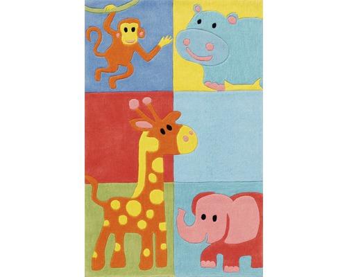 Tapis pour enfants Zoo Carreaux 110x170cm