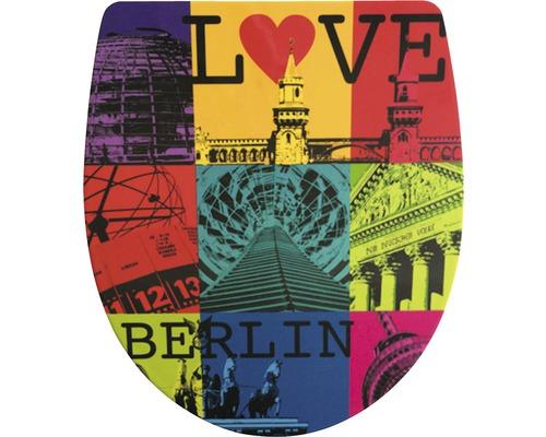 WC-Sitz ADOB Imola Love Berlin mit Absenkautomatik
