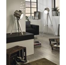 Lampe de table Upstreet monolampe blanc patina/nickel mat 94371-thumb-0
