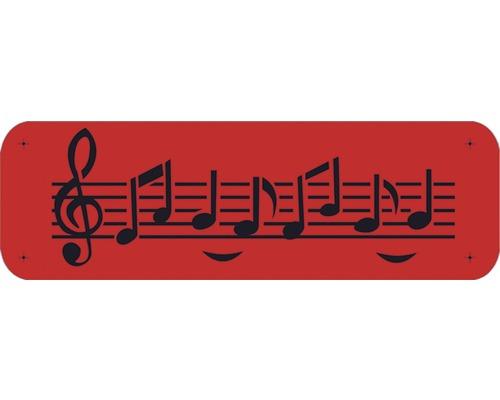 Pochoir notes de musique 44 x 14 cm