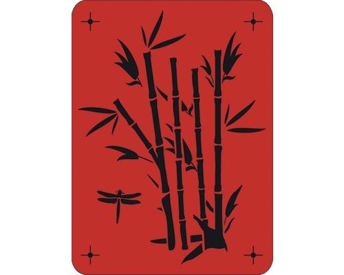 Pochoir bambou 43 x 56 cm