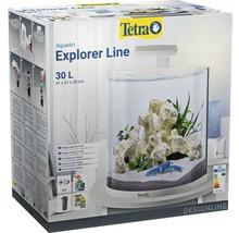 Aquarium Tetra ExplorerLine LED 30 litres sans armoire basse, blanc-thumb-3