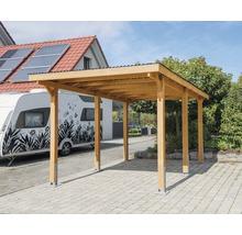 Carport pour véhicule Vertika toit PVC 301x504 cm couleur miel-thumb-0