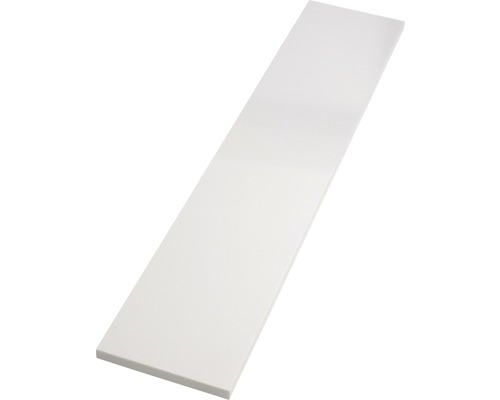 Fensterbank Innen Agglo white 126x25 cm