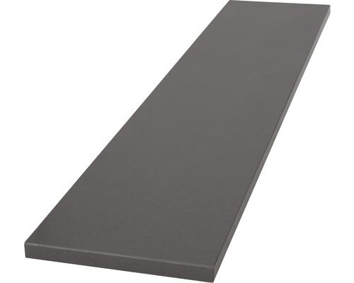 rebord de fen tre int rieur en agglom r gris 101x20 cm hornbach luxembourg. Black Bedroom Furniture Sets. Home Design Ideas