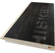 Profilé en U 3 couches en épicéa foncé imprimé 19x146x2500mm-thumb-0
