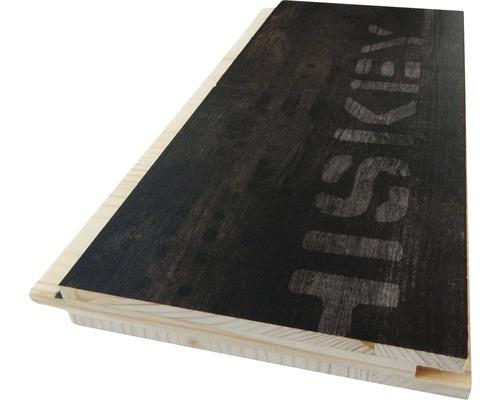 Profilé en U 3 couches en épicéa foncé imprimé 19x146x2500mm-0