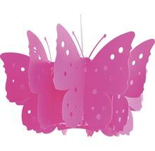 Suspension pour chambre d''enfant Vlinder 1 ampoule rose fuchsia-thumb-2