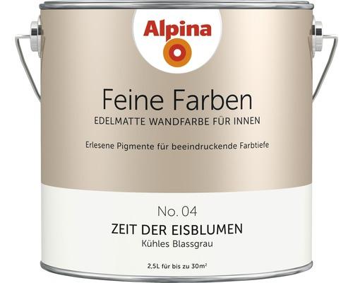 Peinture murale Alpina Feine Farben Zeit der Eisblumen 2.5 l