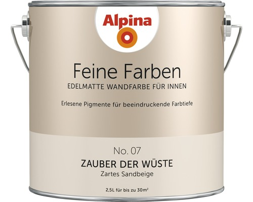 Peinture murale Alpina Feine Farben Zauber der Wüste 2.5 l