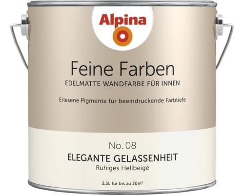 Peinture murale Alpina Feine Farben Elegante Gelassenheit 2.5 l