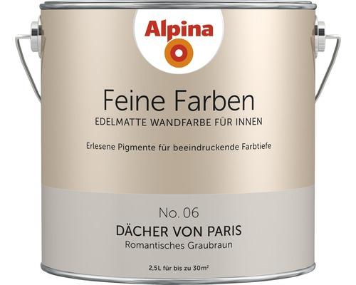 Peinture murale Alpina Feine Farben Dächer von Paris 2.5 l