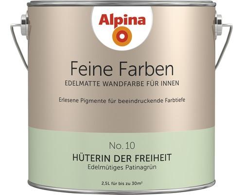Peinture murale Alpina Feine Farben Hüterin der Freiheit 2.5 l