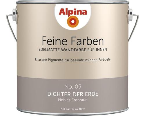 Peinture murale Alpina Feine Farben Dichter der Erde 2.5 l