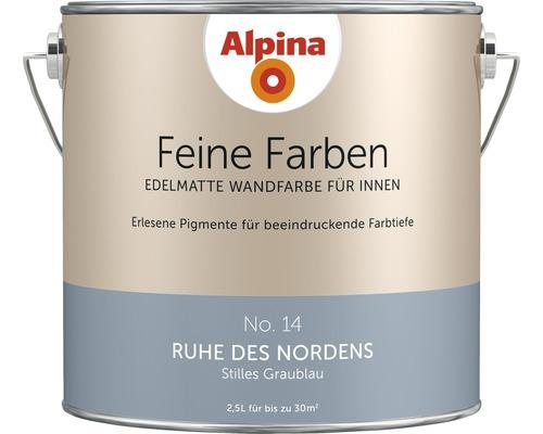 Peinture murale Alpina Feine Farben Ruhe des Nordens 2.5 l