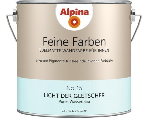Peinture murale Alpina Feine Farben Licht der Gletscher 2.5 l
