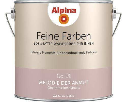 Peinture murale Alpina Feine Farben Melodie der Anmut 2,5 l