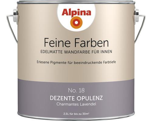 Peinture murale Alpina Feine Farben Dezente Opulenz 2,5 l